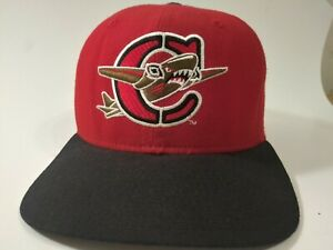 ONLY LIST ONLINE! CAPITAL CITY BOMBERS Hat RARE RED 90s New Era Snapback Cap USA