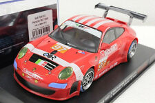 FLY 704102 PORSCHE 997 RSR LE MANS 2010 NEW 1/32 SLOT CAR IN DISPLAY CASE