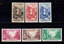 Martinique stamps # 173 - 178, MHOG, VVF,  SCV $52.00