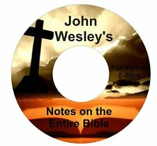 John Wesley's Notes on the Entire Bible CD Ebook PDF-Kindle-iPhone Compatible