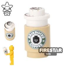LEGO Custom Printed Accessory - Brikbucks Blokacchino coffee