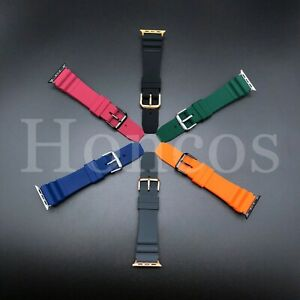 Colorful Silicone Band Strap For Apple Watch 1/2/3/4 iWatch Series 38/42/40/44mm