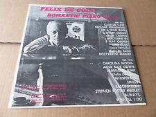 FELIX DE COLA ROMANTIC PIANO NO 3 STILL SEALED PRIVATE LP NEW OLD STOCK !