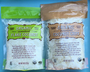 Trader Joe's - Organic Unsweetened Coconut Chips OR Coconut Flakes / Shredded