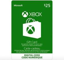 $25 XBOX Live Digital Ecard