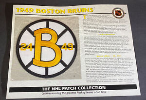 Willabee & Ward NHL Official Patch 1949 Boston Bruins
