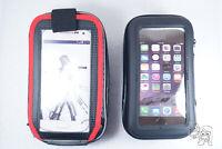 2x Waterproof Bike / Motorcycle Handlebar Mount Holder Case iPhone 11 XS, 8+ S10