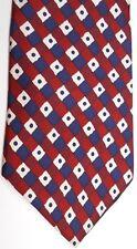 "Liberty of London Men's Silk Tie 58"" X 4"" Multi-Color Geometric"