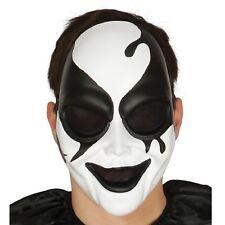 Halloween Máscara De Arlequín asesino Vestido de Disfraz Accesorio de Terror de PVC