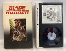 Rare BLADE RUNNER Beta Video Tape NOT VHS BETAMAX Original copy, not a Replicant