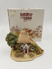 Lilliput Lane Cottages Handmade Sculptures Gardner's Cottage 1990 limited Ll537