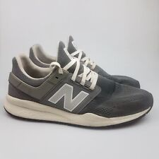 Men's NEW BALANCE '247' Sz 12 US Runners Grey White VGCon | 3+ Extra 10% Off