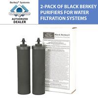 Berkey BB9 Replacement Black Purifier Elements for Berkey Water Filter Systems