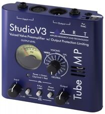 New ART Studio V3 Voiced Valve Preamplifier w / Output Protection Limiting Level
