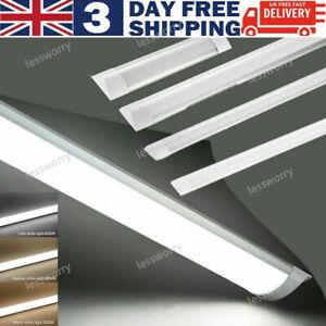 1ft 2ft 3ft 4ft HIGH POWER SLIMLINE LED BATTEN Replace Florescent Tube Light