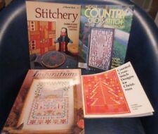 Cross Stitch lot Danish Handcraft - Sunset - Mcall's - Donna Kooler - Sue Cook