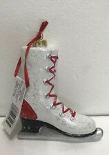 Nwt Glass Blown Skater Shoes Christmas Tree Ornament Decoration