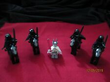 LEGO LOTR Minifigures Lot.Witch King, Ring Wraiths , Swords, Capes, Weapons