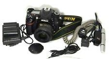Nikon D7200 24.2MP DSLR CAMERA W /NIKON AF-S  50MM 1:1.8G LENS. LOTS OF WEAR