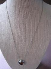 CHOICE by CHIMENTO NWT Italy 2.9 ctw CZ Stainless Necklace Orig $120.00 US NEW