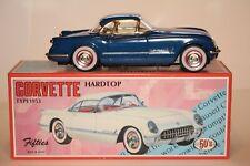 1953 CORVETTE HARDTOP TIN TOY CAR by 50's FIFTIES