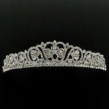 Wedding Clear Austrian Crystal Rhinestone Tiara Crown Bridal Party Pageant 5449