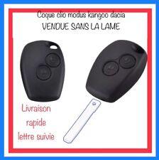 Coque Clé Renault Clio 3 Twingo Dacia  Kangoo 2 En 2 Boutons