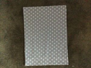 "Personalized Travel Pillow Case 14""x20"" Lavender polka dot"