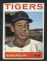 1964 Topps #143 Bubba Phillips VG/VGEX Tigers 31991