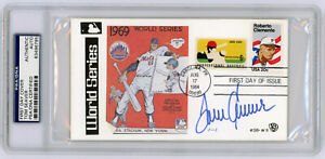 1984 Tom Seaver Signed World Series FDC PSA / DNA Certified Authentic