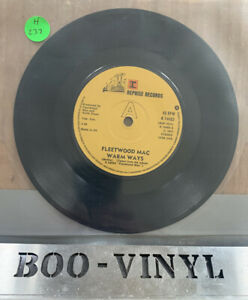 "FLEETWOOD MAC WARM WAYS 45 REPRISE 1976 K14403 7"" Vinyl Record EX CON"