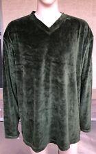 NWT Vintage Alexander Julian Colours Velour V Neck Sweater Shirt Lesotho 2XL