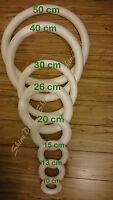 Polystyrene Styrofoam Ring/Hoop Shape 26cm
