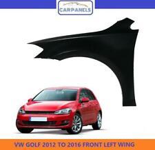 VW GOLF MK7 FRONT WING  2012 - 2016 LH LEFT NS NEARSIDE PASSENGERS PRIMED NEW