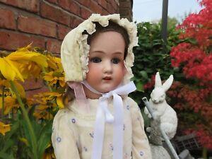 Antique 1920s Heubach Koppelsdorf 250-05  Bisque Head Child Doll