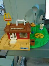 Vintage Fisher-Price McDonalds Playset 1989 Old Retro Cool