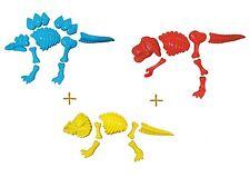 3er Set Sandform Dino-Skelett Dinoknochen Sandförmchen Sandkasten