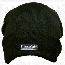 Thinsulate 100g Knit Stocking New Black Beanie Deal Skull Cap Winter Watch Hat
