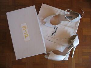 SJ Parker Wedding Shoes - Ursula Pink Satin Stilettos 8.5 - NEW !