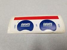 New York Giants  GUMBALL SIZE Helmet Decal Set
