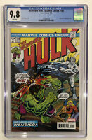Incredible Hulk: Facsimile Edition #180 CGC 9.8 WOLVERINE 2020