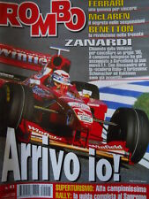 ROMBO 41 1998 Speciale Camel Trophy 1998 - Superturismo vittoria ALFA 156