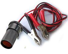 1 set 30A car cigarette lighter to CAR battery Alligator clip Charger cable 1.5M