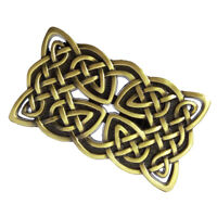 1PC Retro Irish Celtic Cross Buckle Western Men's Leather Belt Buckle Bronze