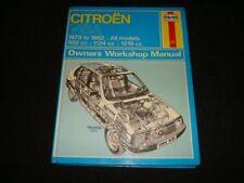 Guides de réparation automobiles Citroën