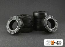 1/50 Tyre Set 6x2 Low profile for WSI, Tekno etc.- Maestro Wheels