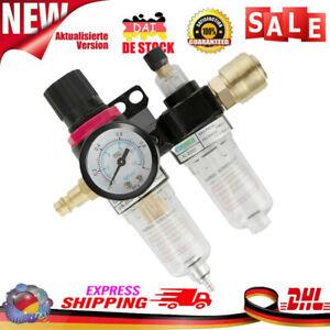 Druckluft Wartungseinheit-Druckminderer Wasserabscheider Öler Filter Kompressor*