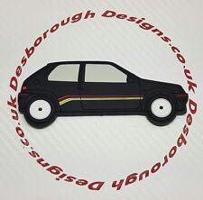 Peugeot 106 Rallye fridge magnets  Black Phase 1