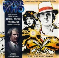 Return to the Web Planet (Doctor Who) by O'Mahoney, Daniel CD-Audio Book The