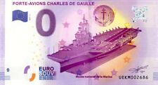 83 TOULON Musée de la Marine, Le Charles de Gaulle, 2017, Billet 0 € Souvenir